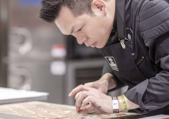 Desmond Lee creating his Fresh Patisserie of Futropolis